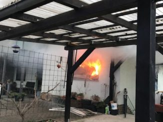 Wohnungsbrand in Mehrfamilienhaus in Diez